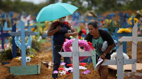 Brasil registra 5.466 muertes por coronavirus y los contagios superan los 78.000
