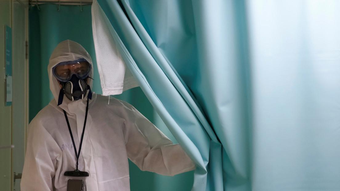 Rusia registra casi 8.000 nuevos casos de covid-19 en un día