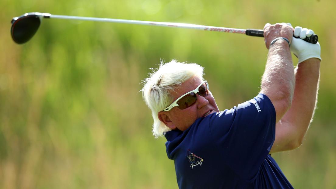 El golfista John Daly se disculpa tras sugerir que se bebe una botella de vodka al día para combatir el covid-19