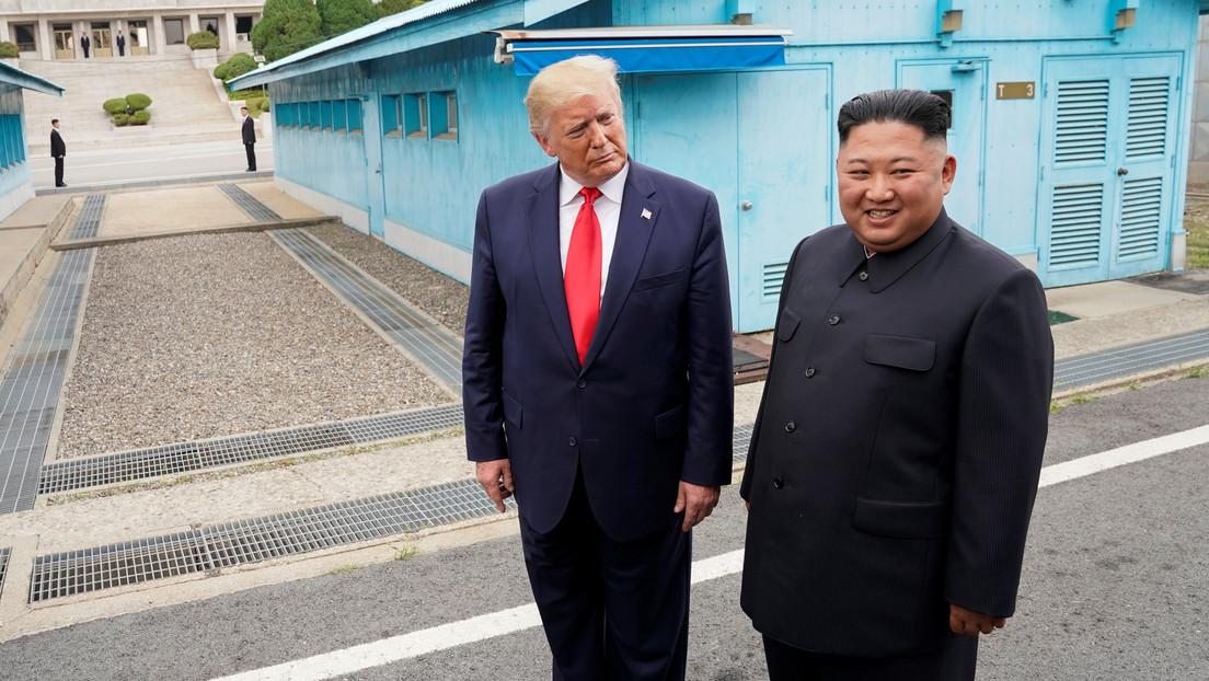 """Trump afirma estar contento de ver que Kim Jong-un """"está de vuelta y bien"""""""