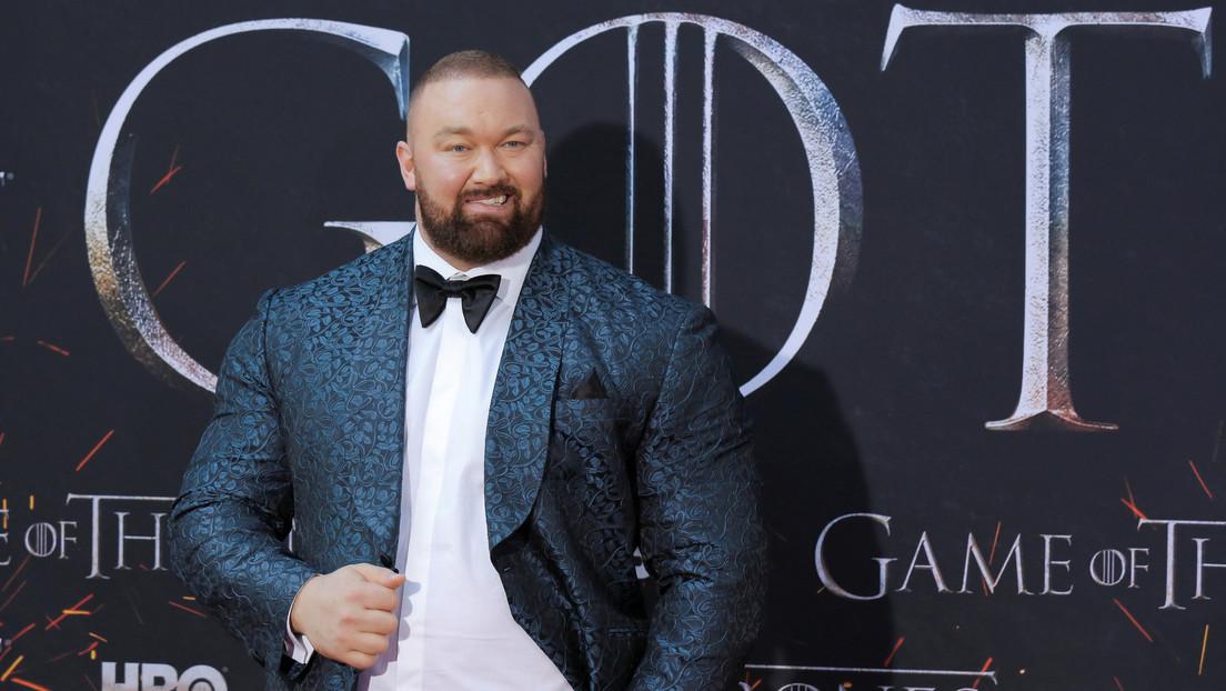 El actor que interpreta a 'La Montaña' en 'Juego de tronos' rompe un récord mundial al levantar más de 500 kilos (VIDEO)