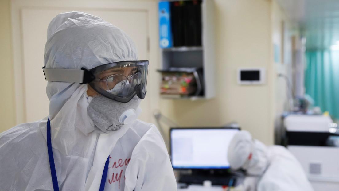 Rusia registra más de 10.500 casos de coronavirus en un día