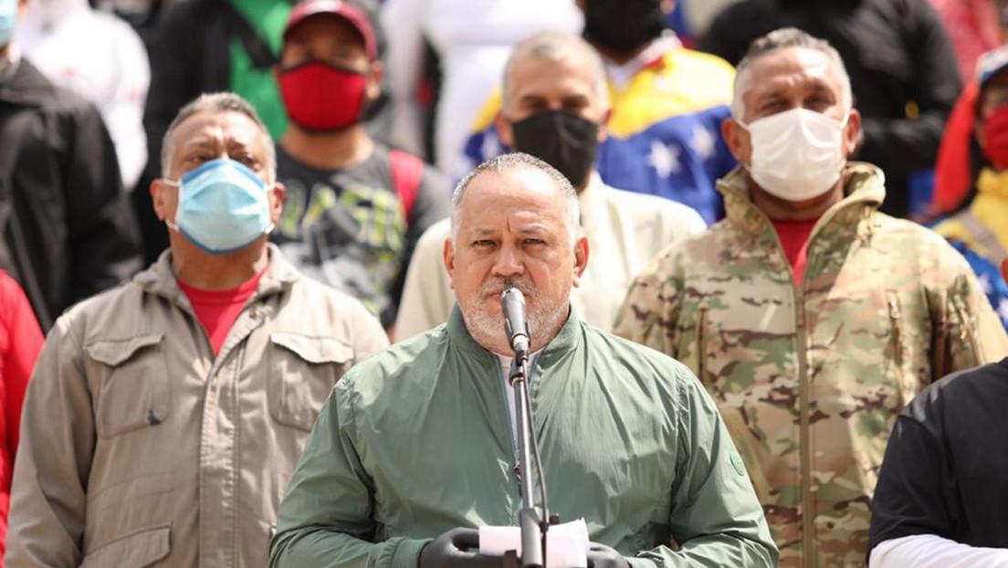 """Diosdado Cabello tras la frustrada incursión en Venezuela: """"Fue un plan de EE.UU. con apoyo del narcotráfico"""""""