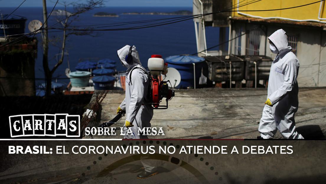 ¿Se encamina Brasil hacia la peor crisis sanitaria mundial por el coronavirus?