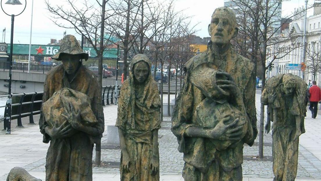 Hace 173 años indígenas donaron 170 dólares para ayudar a Irlanda en la hambruna y ahora irlandeses donan 1,8 millones para ayudar a indígenas