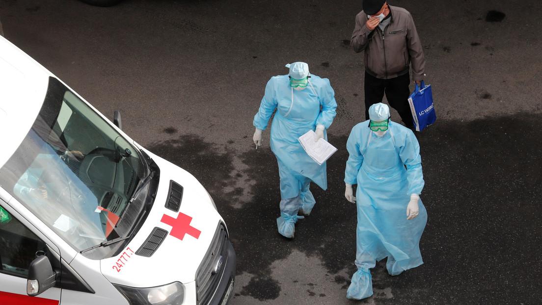 Rusia detecta más de 10.000 nuevos casos de coronavirus y 86 muertes en un día