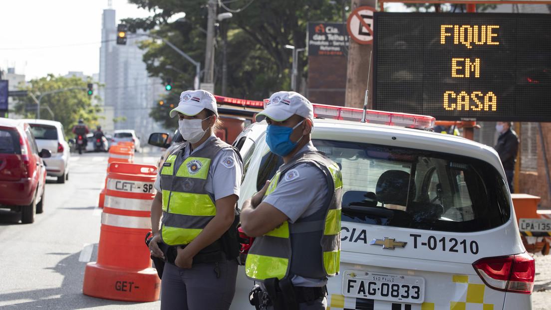 En contra de la postura de Bolsonaro, tres estados de Brasil decretan el confinamiento total en varias ciudades