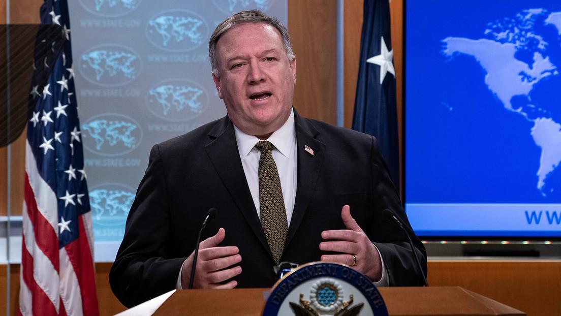 """Pompeo afirma que la inteligencia de EE.UU. """"todavía está averiguando con precisión"""" donde se originó el covid-19"""