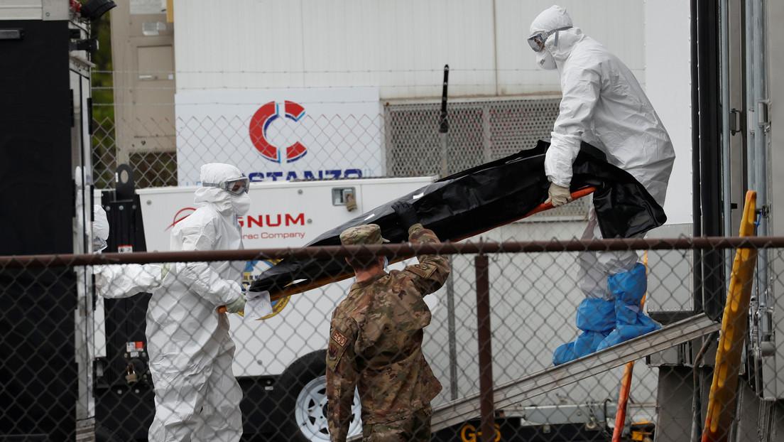 EE.UU. registra 2.073 muertes por covid-19 en un solo día y el total se eleva a 73.207