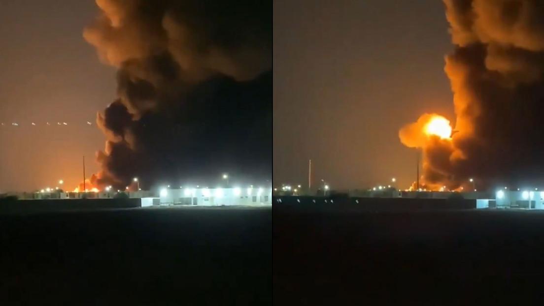 VIDEOS: Se registra un incendio tras una explosión en una planta de químicos en México