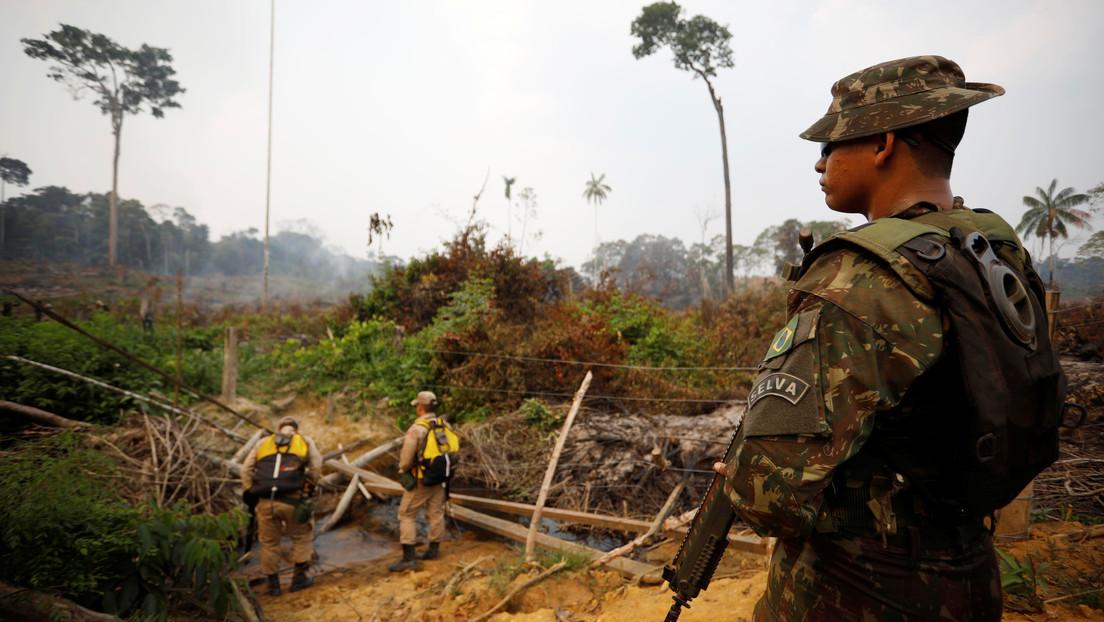 Bolsonaro autoriza el envío del Ejército a la Amazonía para combatir la deforestación