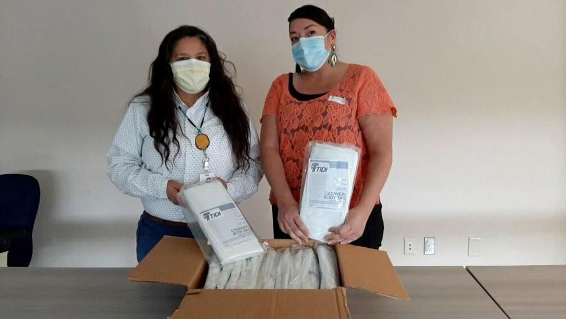 Un centro de salud indígena en EE.UU. pide kits contra el coronavirus, pero las autoridades le entregan bolsas para cadáveres