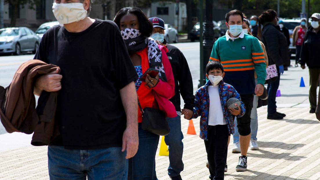 EE.UU. registra 2.448 muertes por covid-19 en las últimas 24 horas y el total supera las 75.000
