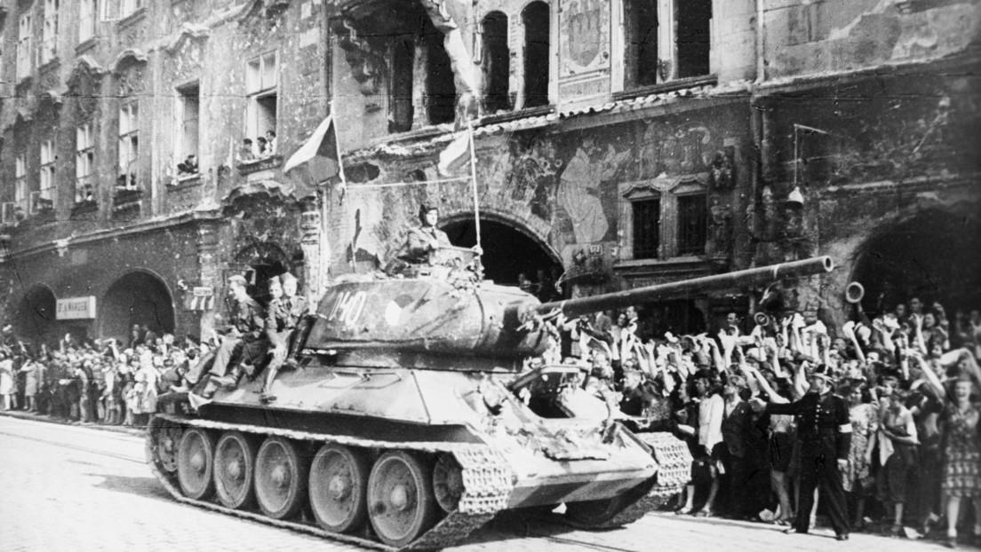 Publican documentos desclasificados sobre la liberación por el Ejército Rojo de la Praga ocupada por los nazis