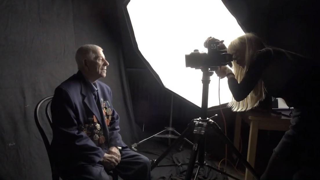 'Los héroes como no los ha visto nadie': un proyecto fotográfico inmortaliza las historias de los veteranos de la II Guerra Mundial