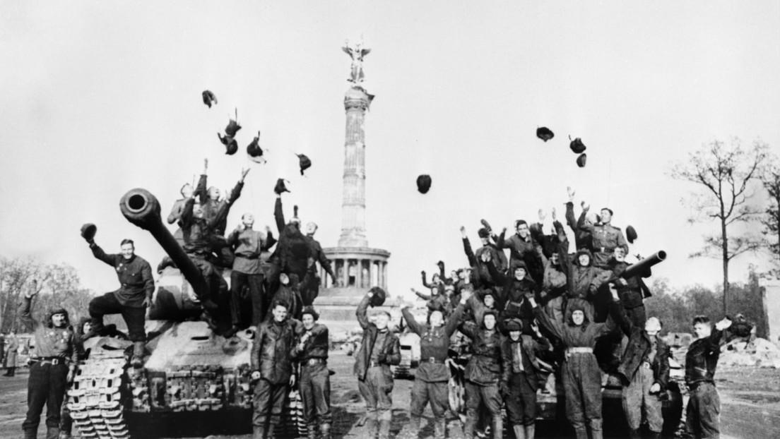 Cómo en los países occidentales intentan restar importancia al Ejército Rojo en la Segunda Guerra Mundial y reescribir la historia