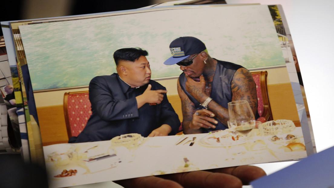Dennis Rodman cuenta cómo se emborrachó con Kim Jong-un, lo vio cantar karaoke y jugó con su hija el día que se conocieron