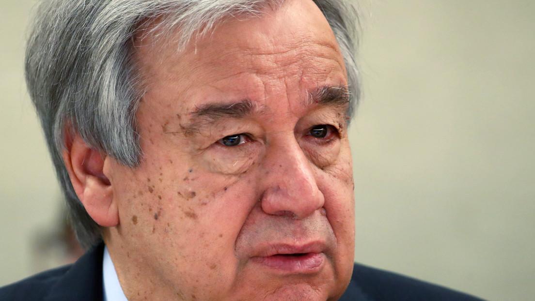 """""""Durante la actual crisis del covid-19 vemos nuevos esfuerzos para dividir a las personas"""": el jefe de la ONU pide recordar las lecciones de 1945"""