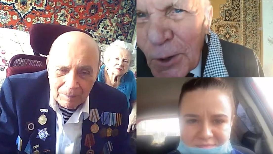 Voluntarios reúnen a veteranos de la Gran Guerra Patria mediante la tecnología
