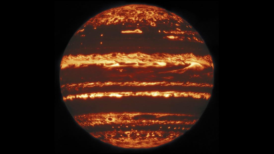 FOTOS: Astrónomos captan las tormentas de Júpiter en una resolución nunca antes vista y resuelven el misterio de su mancha roja