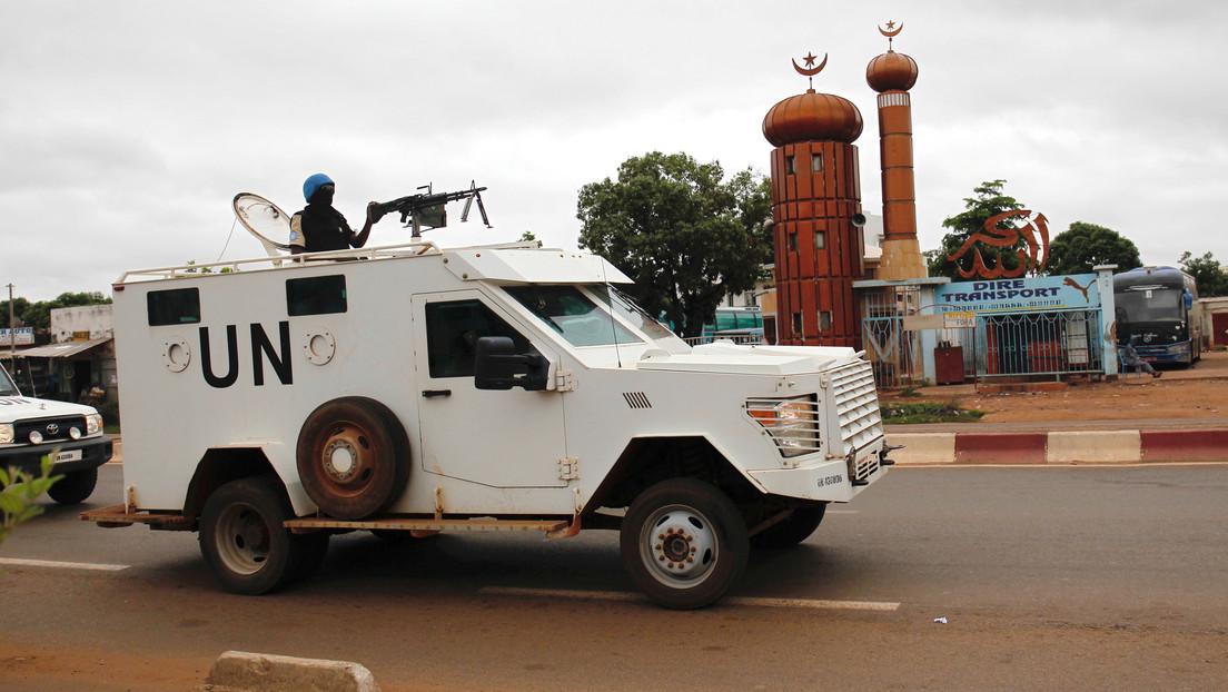 3 integrantes de las fuerzas de paz de la ONU mueren tras la explosión de una bomba en Mali