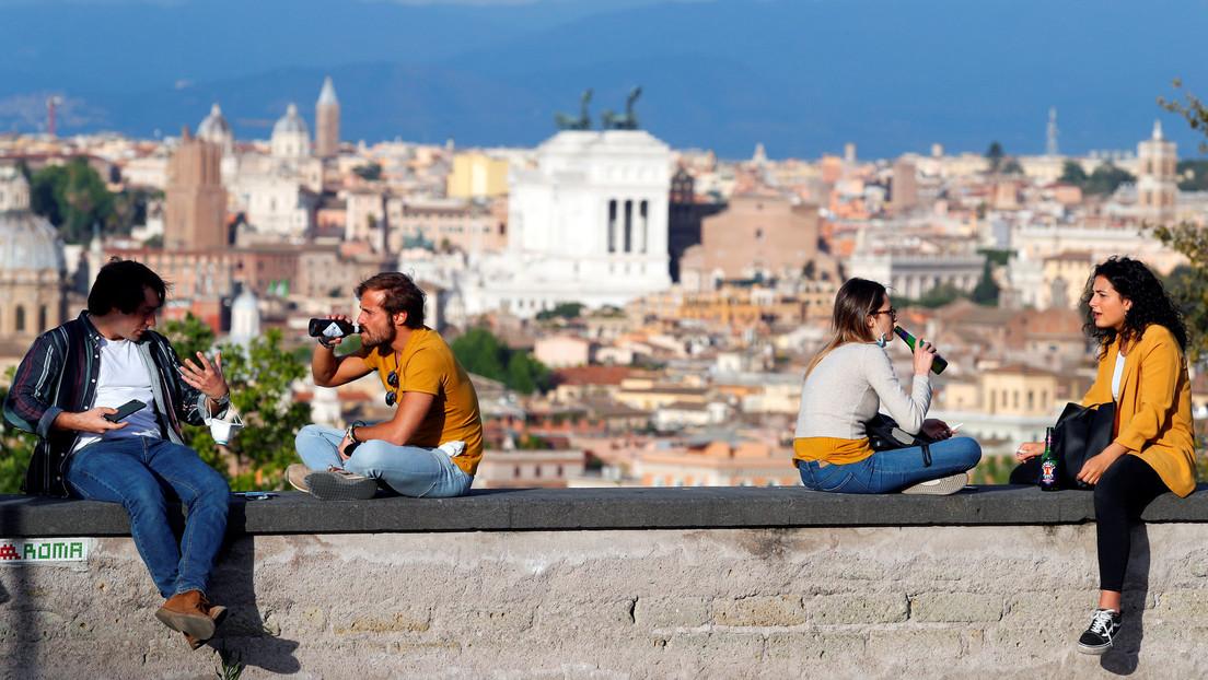 Italia registra un aumento diario de muertes por coronavirus y un ligero descenso de nuevos casos