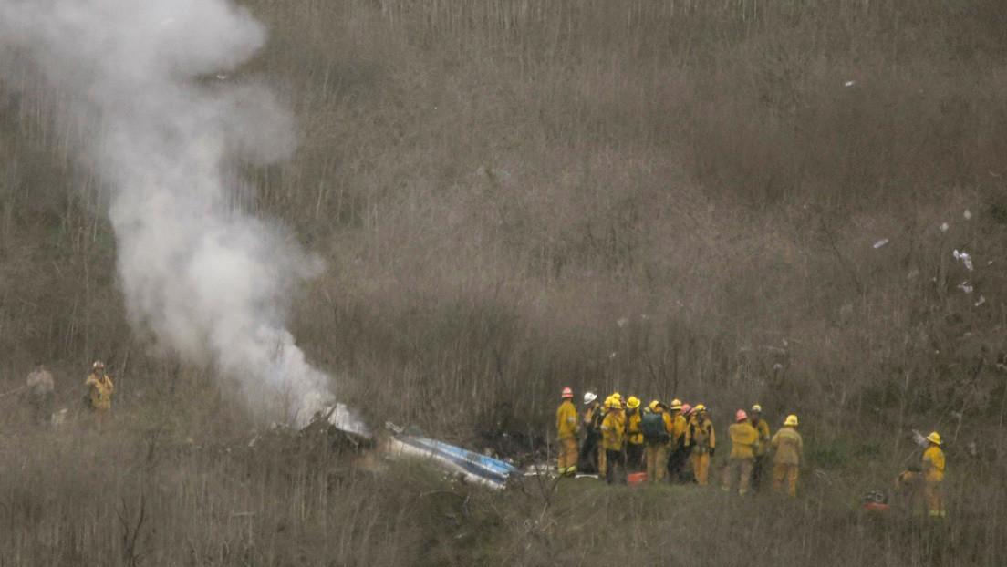 Kobe Bryant y los demás pasajeros del helicóptero siniestrado fueron negligentes, alega la familia del piloto