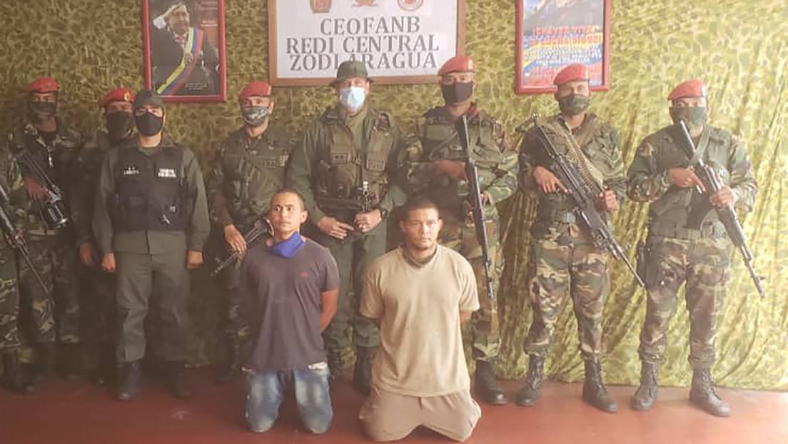 Autoridades venezolanas capturan a otros dos implicados en el intento fallido de incursión marítima