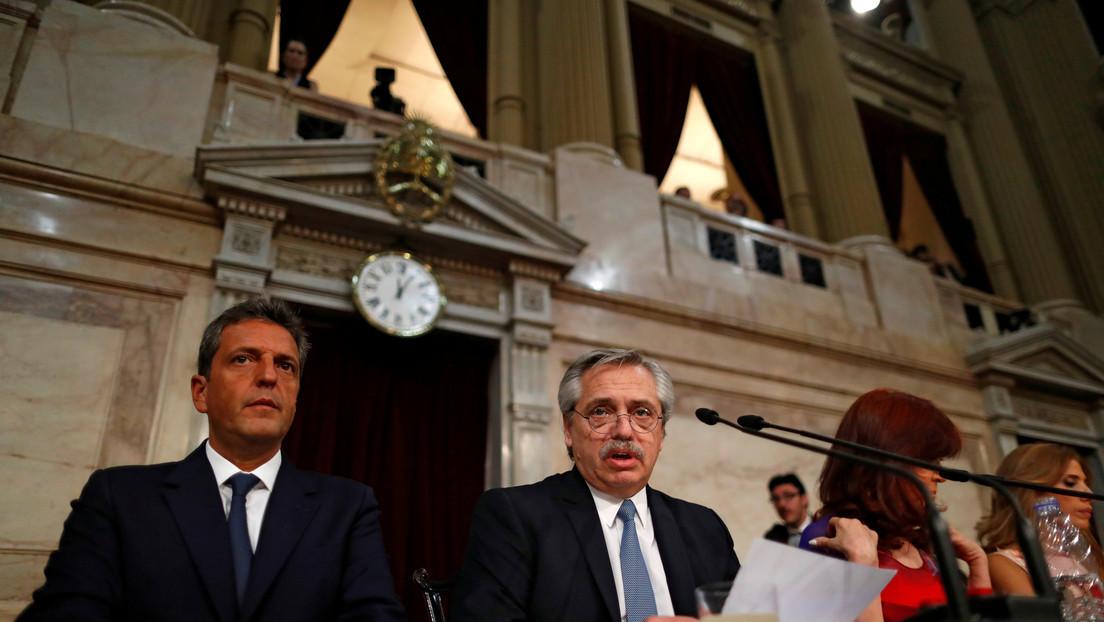 """Alberto Fernández espera una """"contraoferta"""" de los bonistas para resolver el canje de deuda en Argentina"""