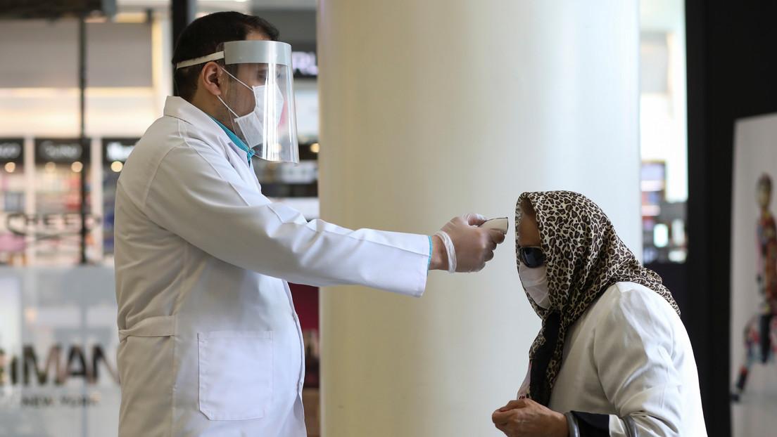 Científicos iraníes crean un nanotest capaz de detectar el covid-19 en 30 segundos