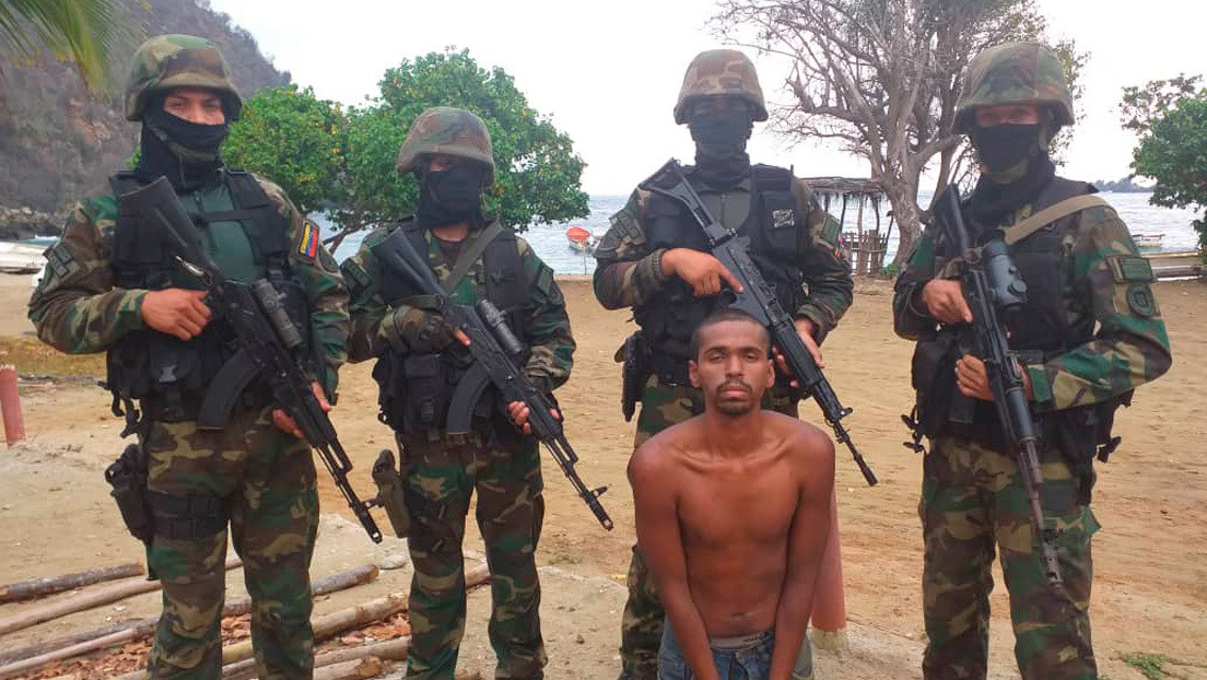 Venezuela anuncia la detención de otro implicado en el fallido plan de incursión marítima