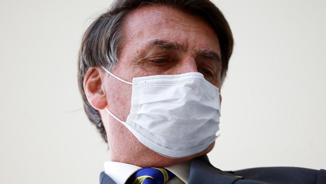 Reportan que Bolsonaro dio negativo a tres pruebas de coronavirus