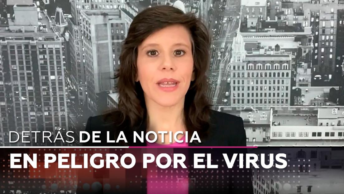 En peligro por el virus