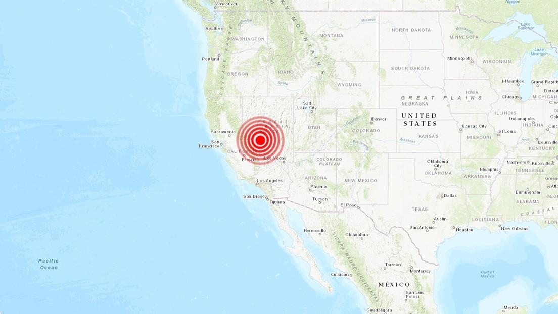 EE.UU.: Se registra un potente sismo de magnitud 6,4 en Nevada (VIDEOS)