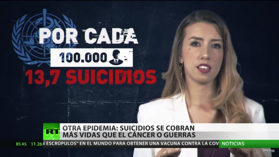 Los suicidios se cobran más vidas que el cáncer o las guerras