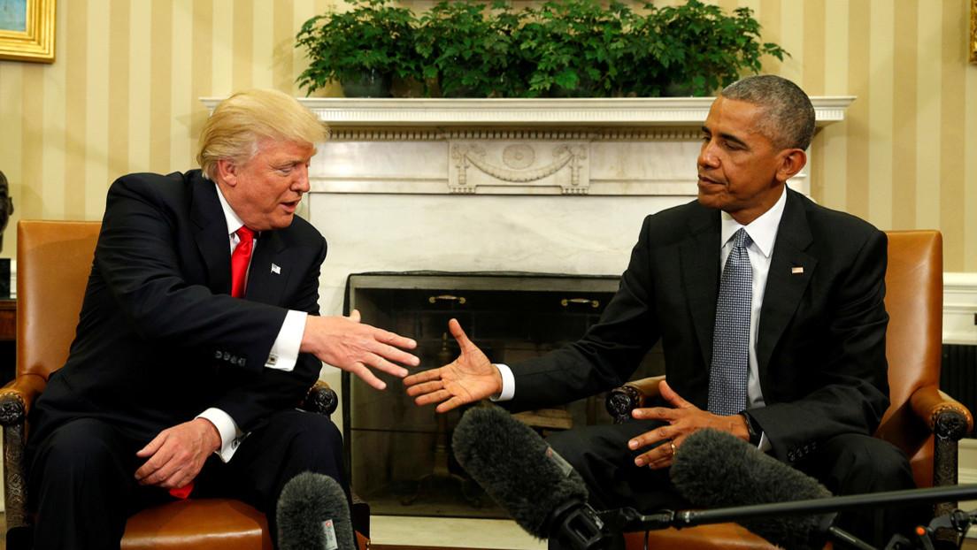 """Trump insiste en que Obama testifique ante el Senado """"sobre el mayor crimen político"""" en EE.UU."""