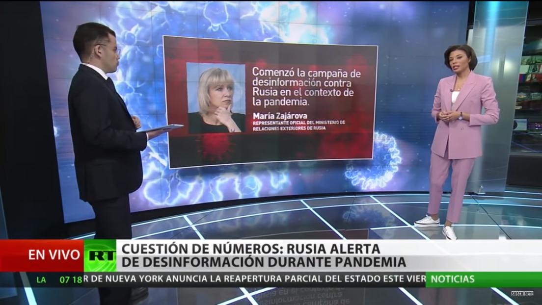 Rusia advierte sobre la desinformación durante la pandemia