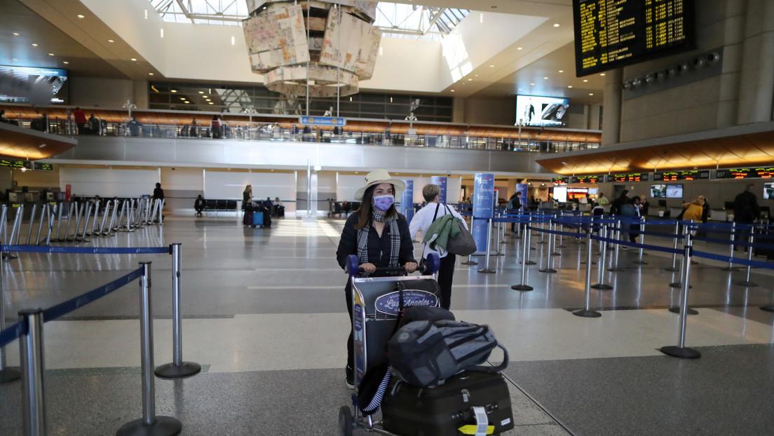 EE.UU. podría medir la temperatura de los pasajeros en los aeropuertos por el covid-19