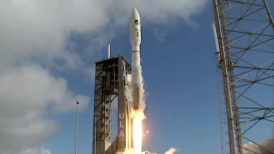 VIDEO El cohete Atlas V lanza un avión espacial del Pentágono en una misión envuelta en secreto