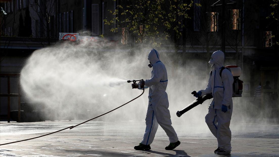 """La OMS advierte que rociar calles con desinfectante es ineficaz frente al covid-19 y """"dañino"""" para la salud"""