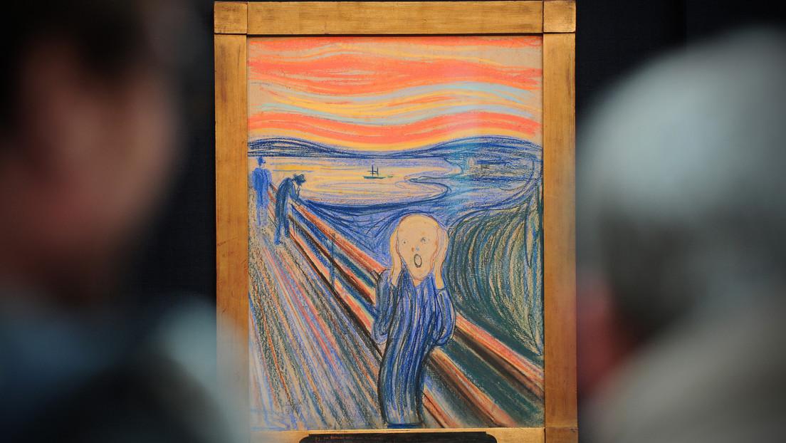 Arrojan luz sobre la causa real de la degradación de 'El Grito' de Munch