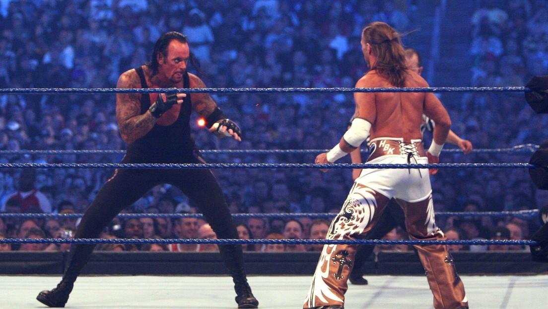 """El mítico luchador The Undertaker revela cuáles de sus peleas en la WWE son las mejores y con cuáles está """"disgustado"""""""