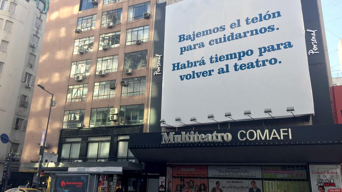 Avenida Corrientes, la glamorosa 'Broadway de Sudamérica' que intenta respirar normalidad