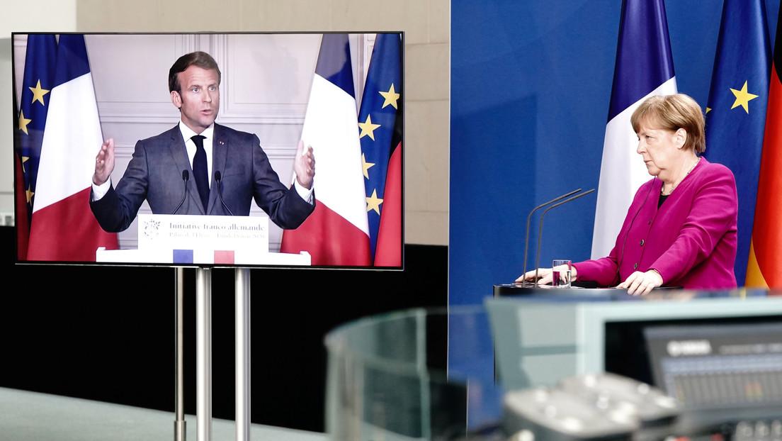 Merkel y Macron proponen crear un fondo de 500.000 millones de euros para la recuperación de la Unión Europea tras la pandemia