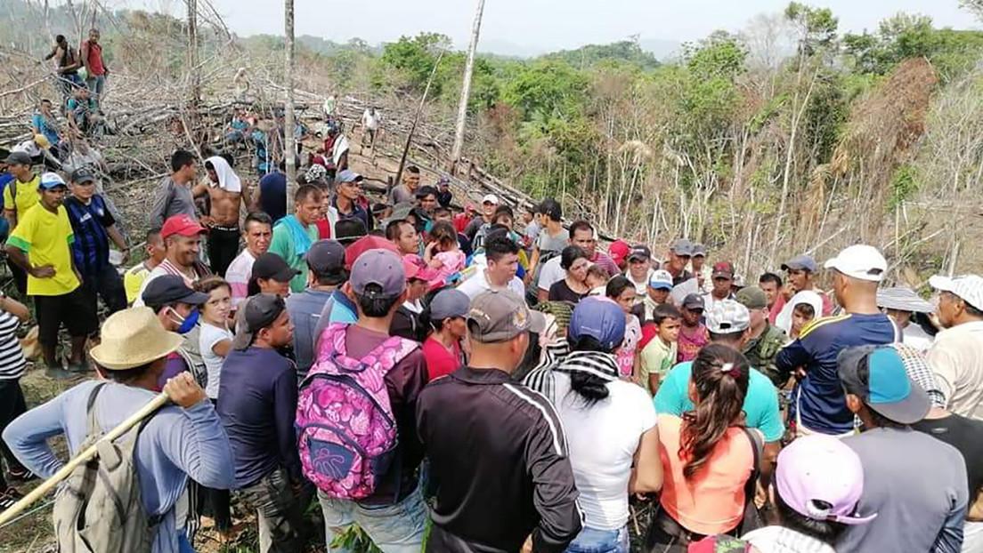 Muere un campesino y otros tres resultan heridos durante un operativo del Ejército para erradicar cultivos en Colombia