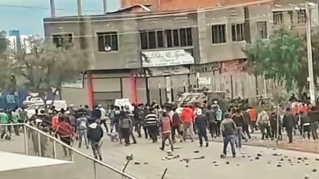 """Gobierno de facto de Bolivia advierte de una """"catástrofe sanitaria"""" en un barrio de Cochabamba por protestas, pero no habrá diálogo"""