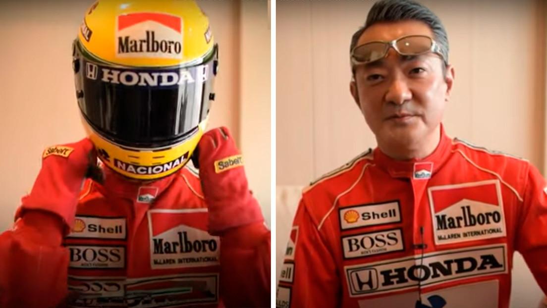 VIDEO: Seguidor del piloto brasileño Ayrton Senna construye en su casa un simulador de F1