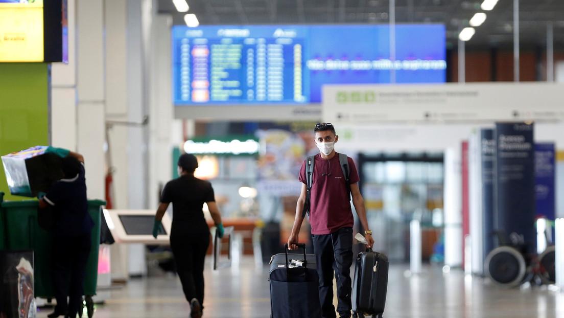 Trump considera prohibir la entrada a EE.UU. de viajeros provenientes de Brasil por la crisis del coronavirus