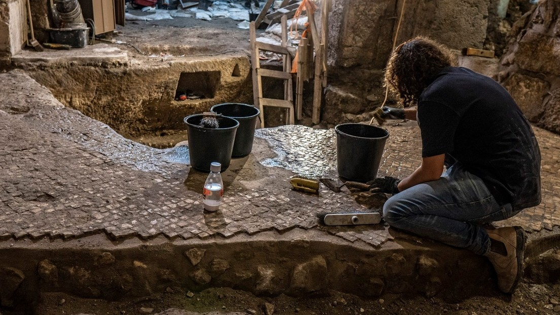 FOTOS: Hallan en Jerusalén por primera vez un sistema subterráneo potencialmente habitable de hace 2.000 años cerca del Muro de las Lamentaciones