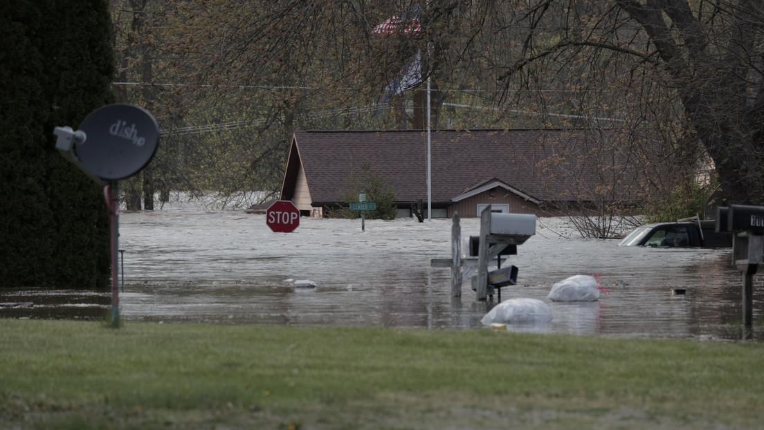 Estado de emergencia en un condado de Michigan por las inundaciones causadas por la ruptura de dos presas